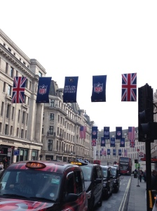 NFL returns to Regent Street on 27th Sept