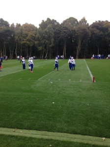 The Buffalo Bills spent the week training at The Grove near Watford